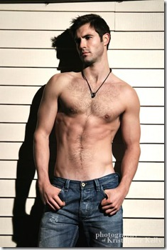 Tall dark and handsome - male model