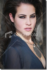 Dark haired woman7
