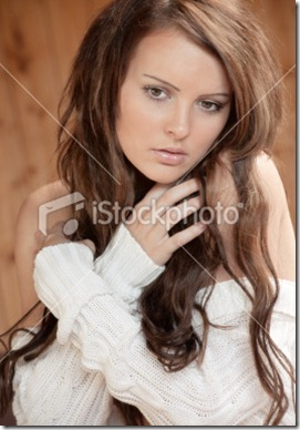 Dark haired woman8