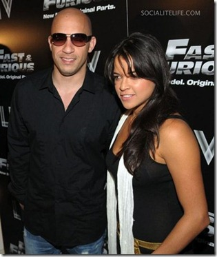 Vin Diesel and Michelle Rodriguez1